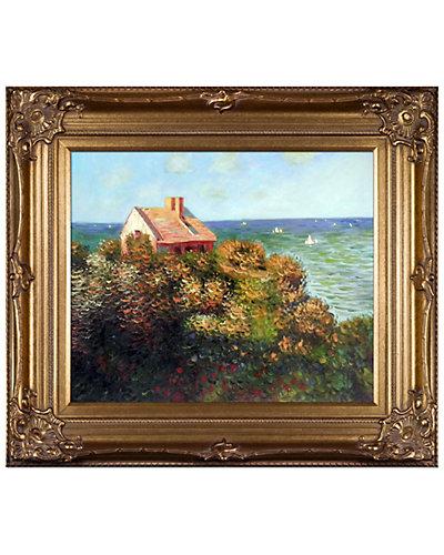 Fishermans Cottage At Varengeville by Claude Monet Oil Reproduction