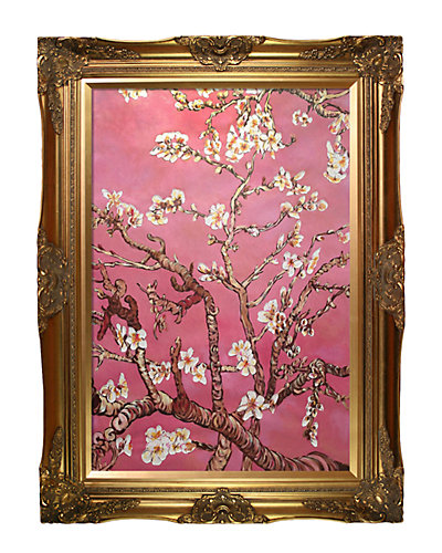 Branches of an Almond Tree in Blossom by La Pastiche Oil Reproduction