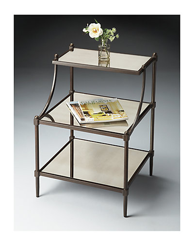 Metalworks Tiered Accent Table