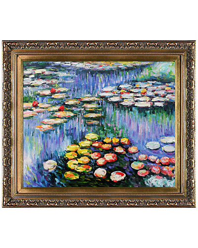 Water Lilies (pink) by Claude Monet Oil Reproduction