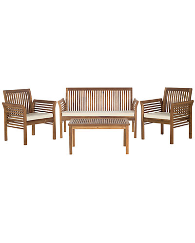 Carson 4pc Outdoor Patio Set