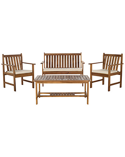 Burbank 4pc Outdoor Patio Set
