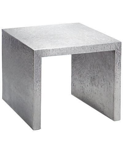 Michael Aram Large Block 22in Nesting Side Table
