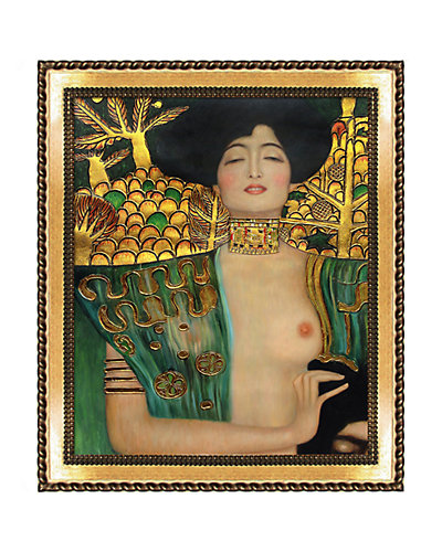 Judith Klimt I by Gustav Klimt Oil Reproduction