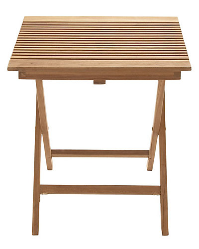 Indoor/Outdoor Wood Folding Table