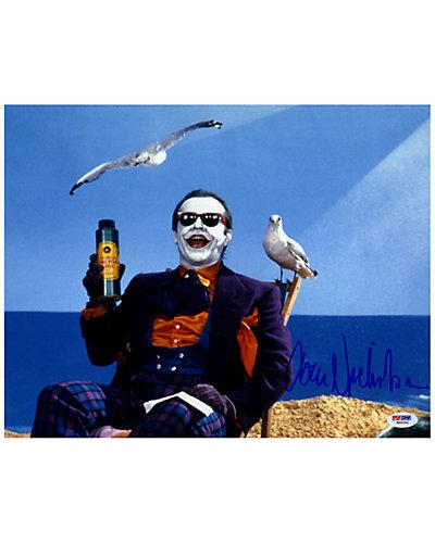 Jack Nicholson Signed Joker Photo by Steiner Sports
