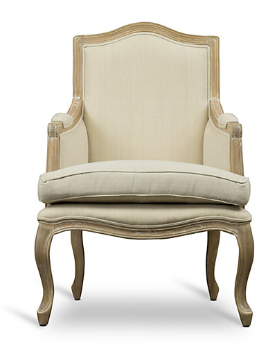 Nivernais Traditional French Accent Chair