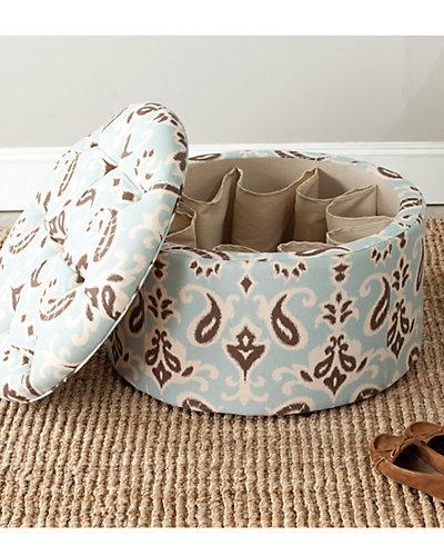 Tanisha Shoe Ottoman