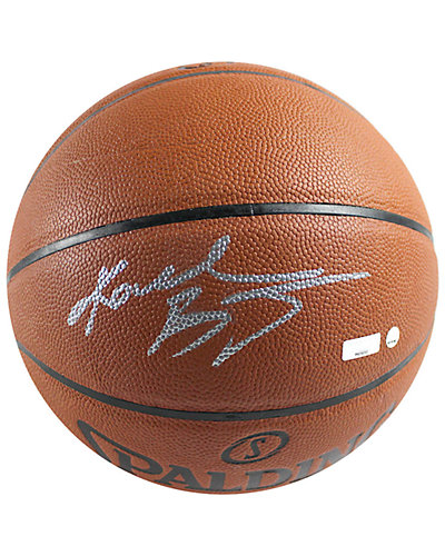 Kobe Bryant Signed I/O NBA Orange Basketball
