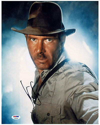 Harrison Ford Signed Indiana Jones Photo by Steiner Sports