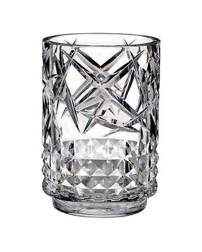 Waterford Fleurology Crystal 8in Vase
