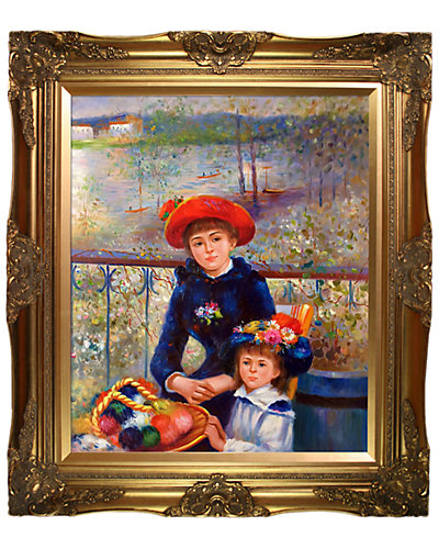 Two Sisters (On the Terrace), 1881 by Pierre Auguste Renoir