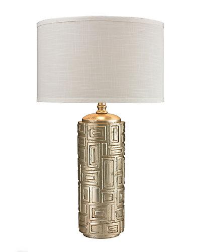 Trump Home 29in Keyser Geometric Pattern LED Table Lamp