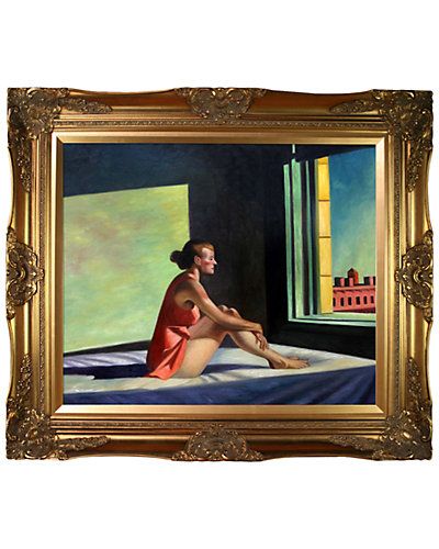 Morning Sun 1952 by Edward Hopper Reproduction