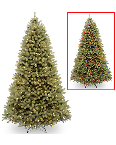 10ft Feel-Real Down Swept Douglas Fir Hinged Tree