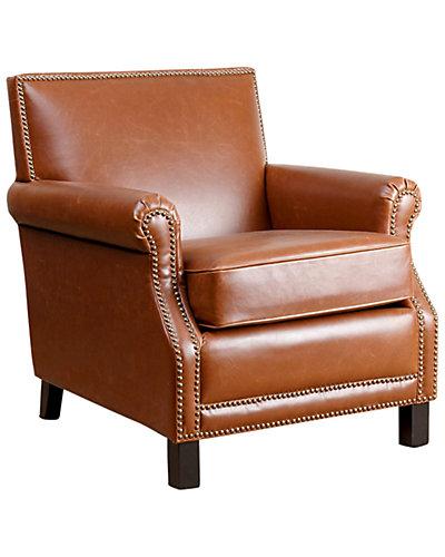 Morgan Leather Club Chair