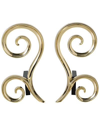 Set of Two Libby Andirons