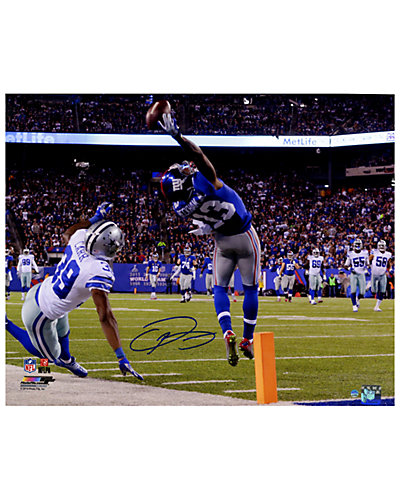 Odell Beckham Jr's Signed One-Handed Touchdown Catch 16x20 Photo