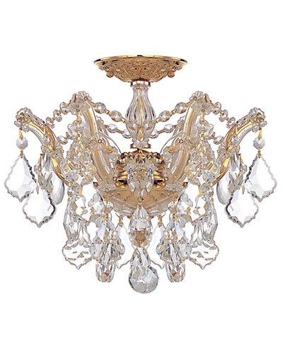 Maria Theresa 6-Light Semi-Flush Mount with Swarovski Crystals