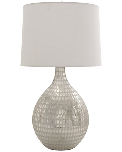 36in Glass Table Lamp
