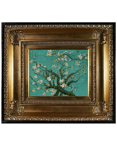 Branches of an Almond Tree in Blossom by Vincent Van Gogh Oil Reproduction