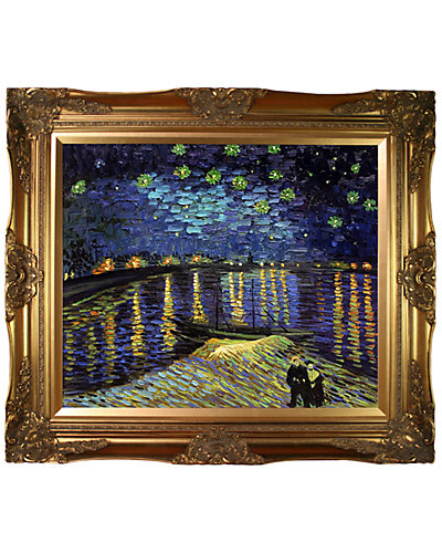 """""""Starry Night Over The Rhone"""" by Vincent van Gogh"""