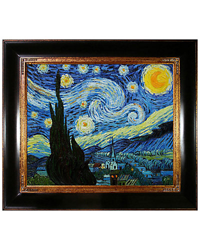 "Hand-Painted Masterpieces ""Starry Night"" by Vincent Van Gogh"