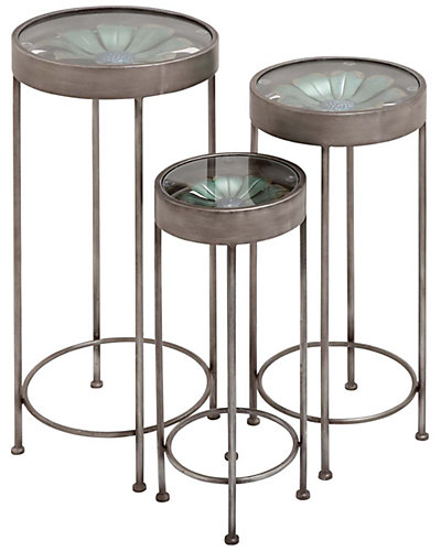 Set of Three Plant Stands