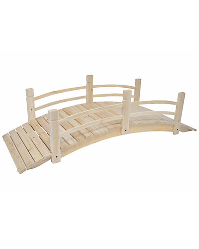 6ft Cedar Garden Bridge
