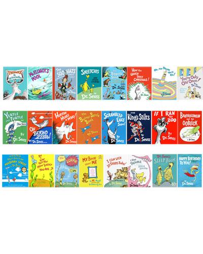 Penguin Random House Dr. Seuss Ultimate Collection 24-Book Set