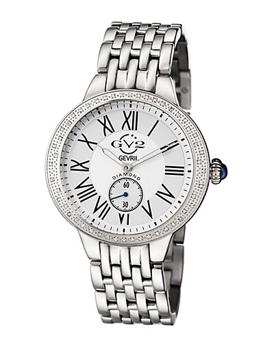 GV2 Women's Astor Diamond Watch with Interchangeable Strap