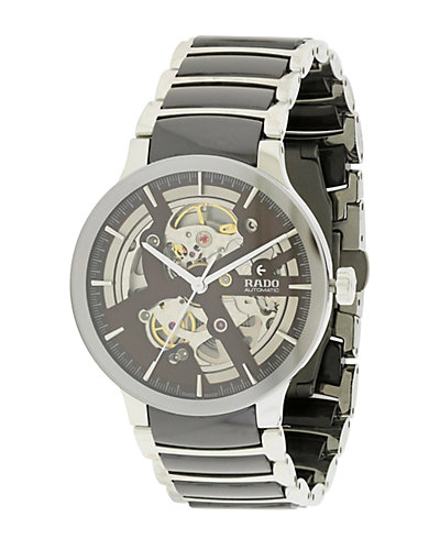 Rado Men's Stainless Steel & Ceramic Watch