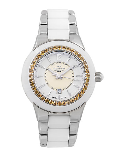 Aquaswiss Women's Sea Star Citrine Watch