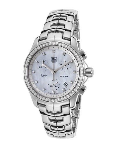TAG Heuer Women's Link Diamond Watch