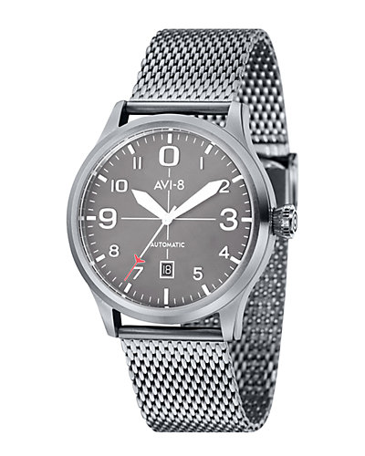 Avi-8 Men's Flyboy Stainless Steel Watch