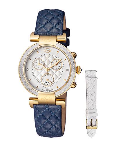 GV2 Women's Diamond Berletta Chrono Watch