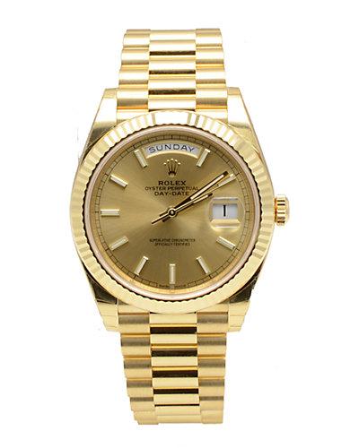 Rolex Men's DayDate 40 Watch