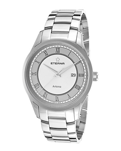 Eterna Men's Stainless Steel Watch