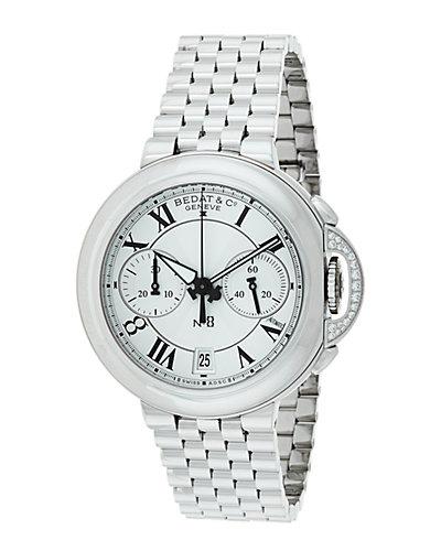 Bedat & Co. Women's No.8 Chronograph Diamond Watch