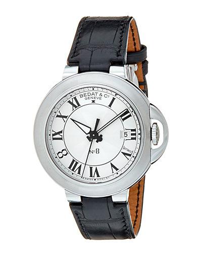 Bedat & Co. Women's No.8 Leather Watch