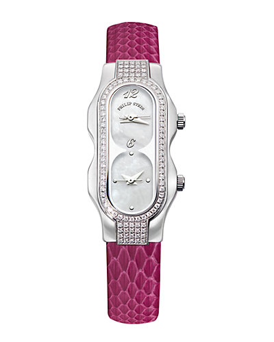 Philip Stein Signature Double Diamond Mini Watch