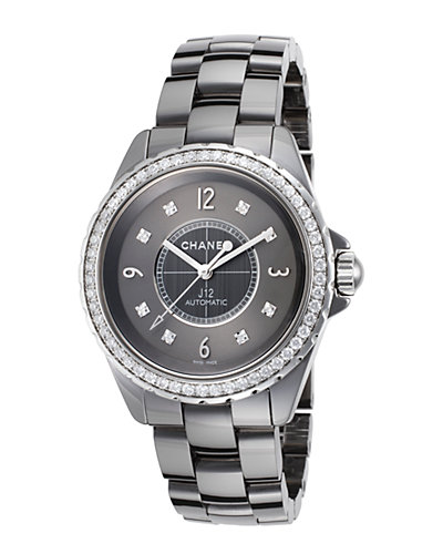 Chanel Women's J12 Diamond Watch