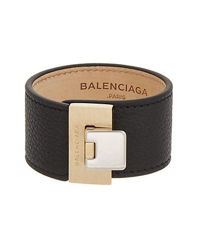 Balenciaga Le Dix Soft Leather Bracelet