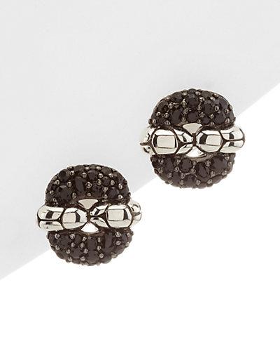 """John Hardy """"Kali"""" Silver Sapphire Earrings"""