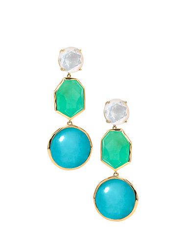 IPPOLITA Modern Rock Candy 18K Gemstone Drop Earrings