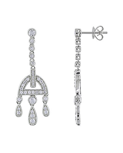 14K 1.00 ct. tw. Diamond Drop Earrings
