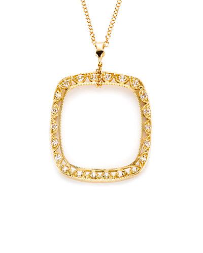 TACORI Classic Crescent 18K 0.25 ct. tw. Diamond Necklace
