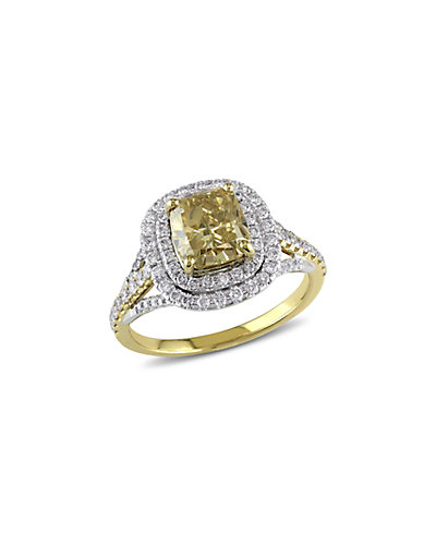 Certified 14K 2.60 ct. tw. Diamond Ring