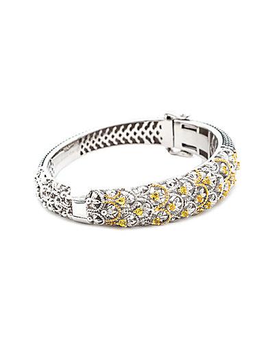 Andrea Candela 18K & Silver 0.30 ct. tw. Diamond Cuff