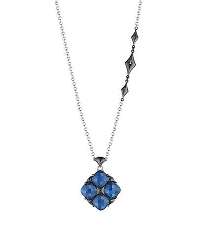 TACORI City Light 18K & Silver 15.40 ct. tw. Quartz Doublet Necklace